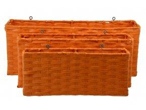 Závěsný úložný díl oranžový