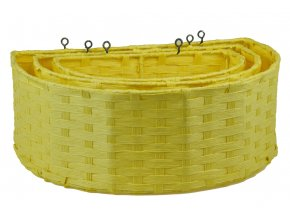 Závěsný úložný díl Vingo žlutý - foto sada