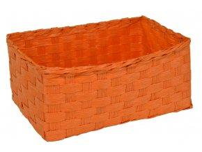 Sada 3 košíčků oranžových