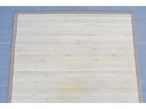 Bambusový koberec přírodní (rozměry 80x200)