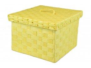 Sada 3 dóz žlutých (Rozměry 22x30x30|20x25x25|18x21x21)