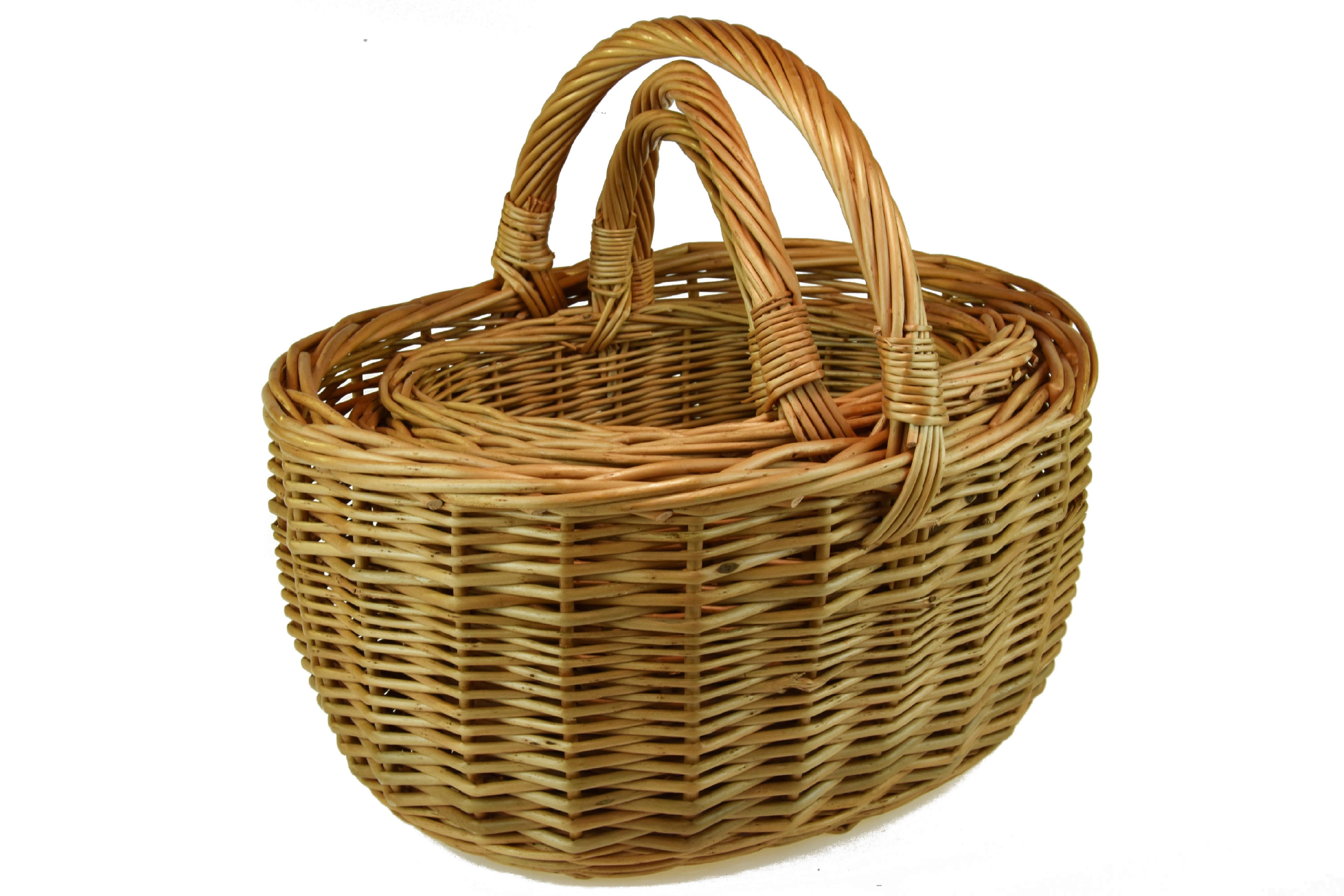 Proutěný košík Rozměry (cm): sada