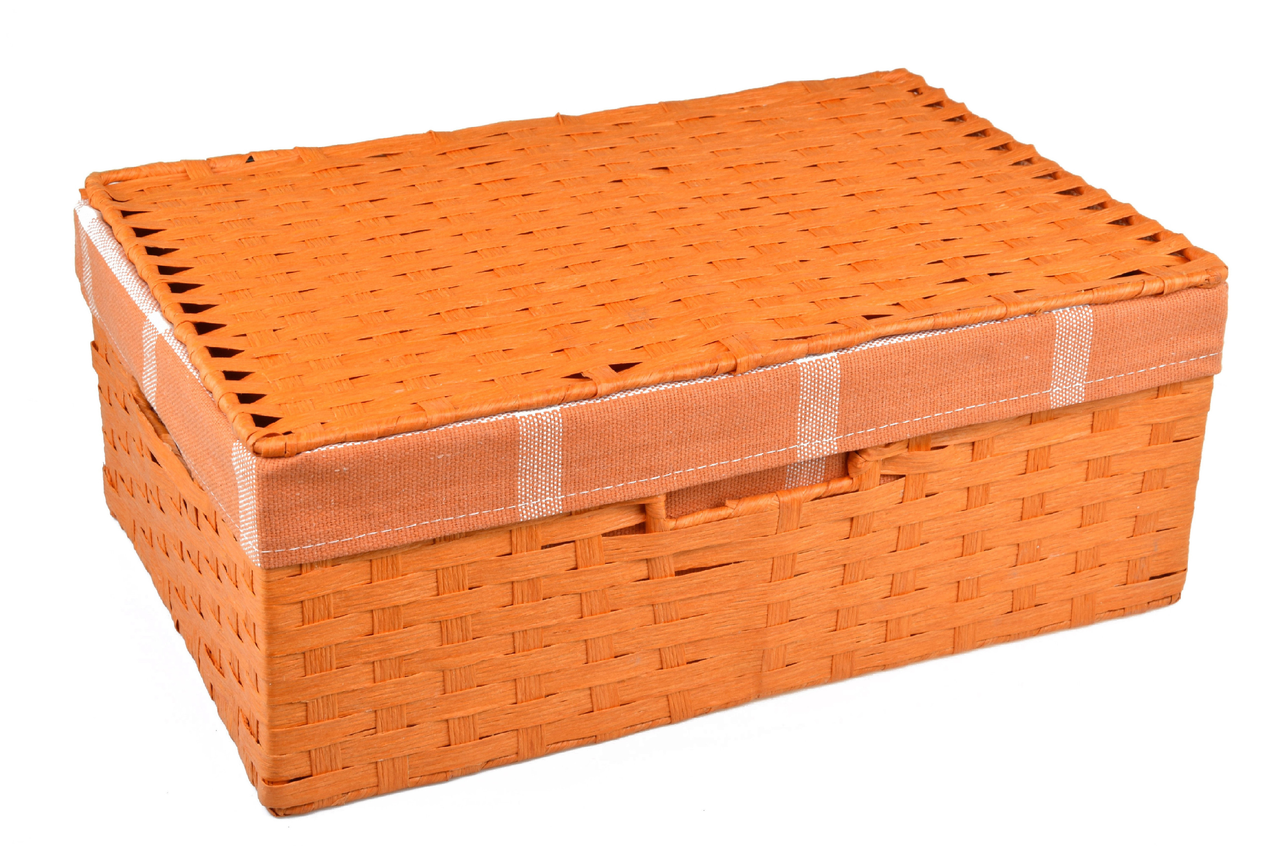 Úložný box s víkem oranžový rozměry boxu (cm): Sada 30x21x11|36x24x13|40x27x15