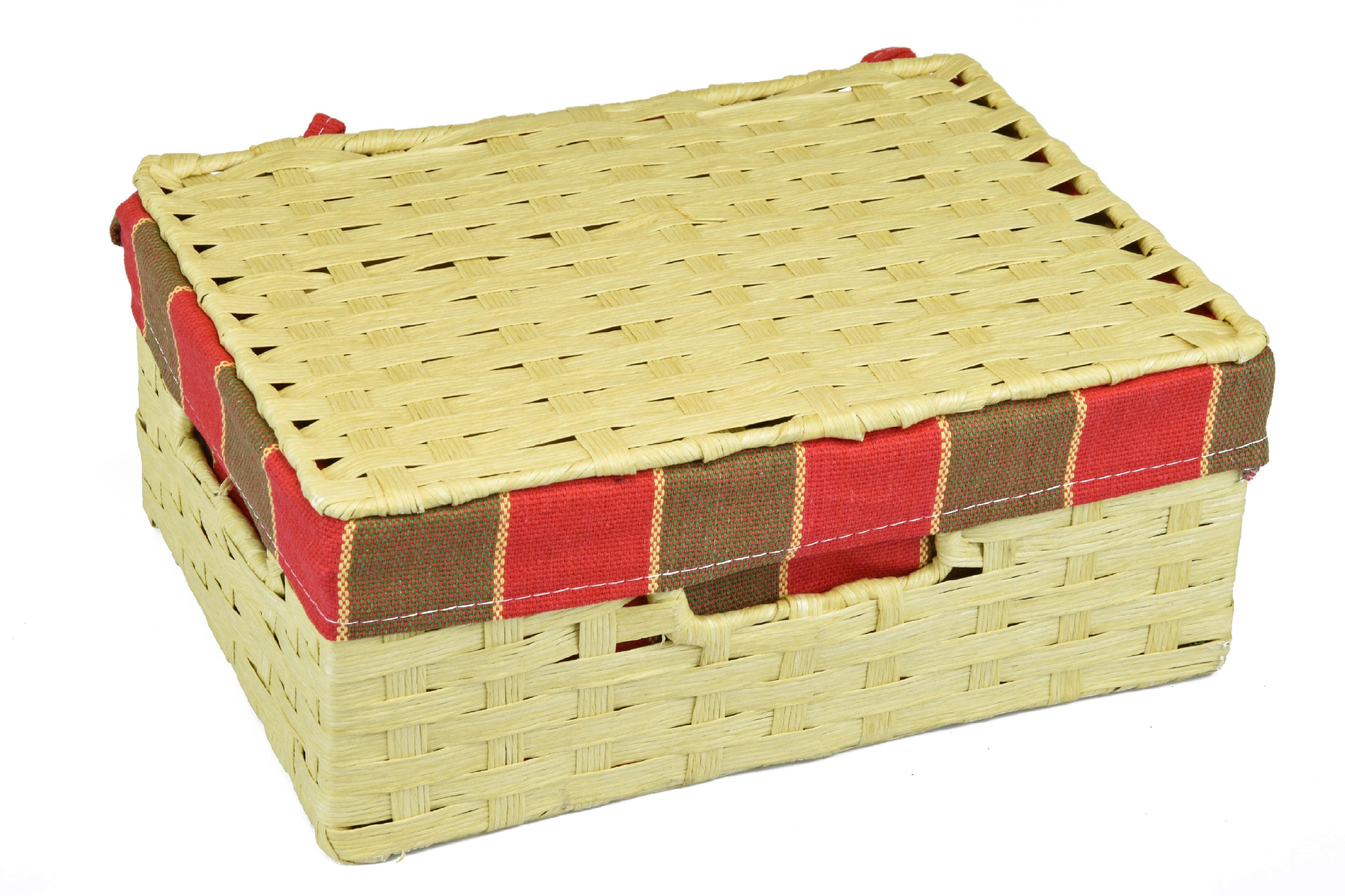 Úložný box s víkem rozměry boxu (cm): 30x21, v. 13