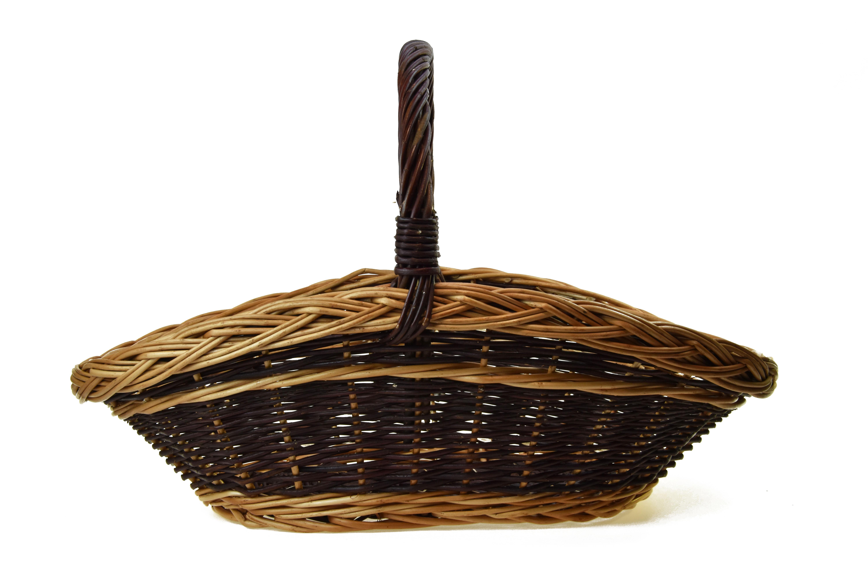 Proutěný koš na dřevo Rozměry (cm): 76x46, v. 53 cm