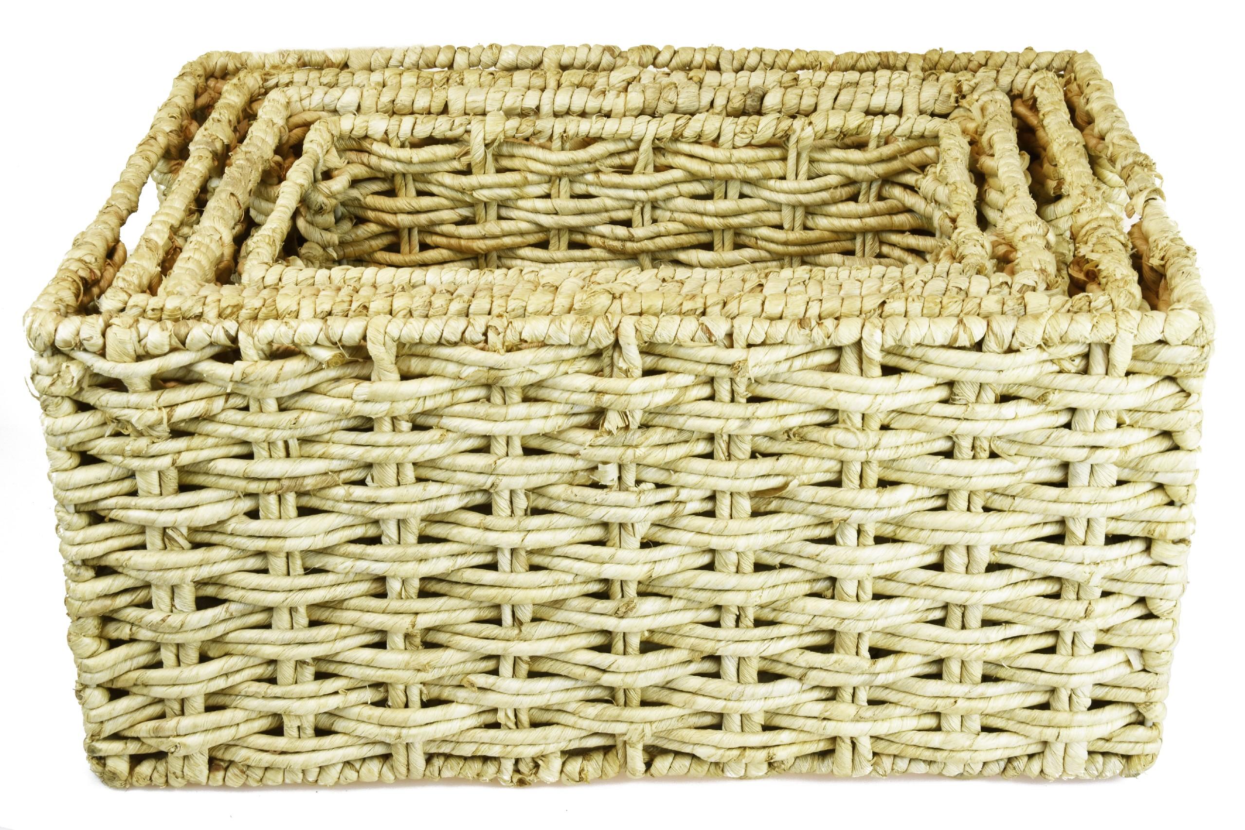 Úložný box medové barvy Rozměry (cm): sada
