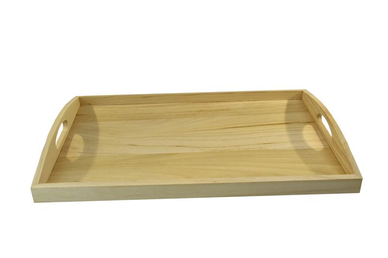 Přírodní dřevěný tác
