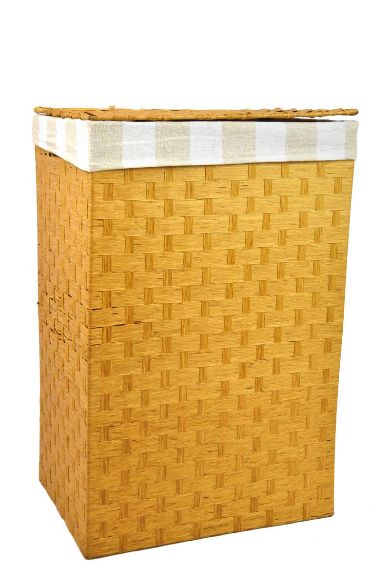Koš na prádlo pískový Rozměry (cm): 43x34, v. 64