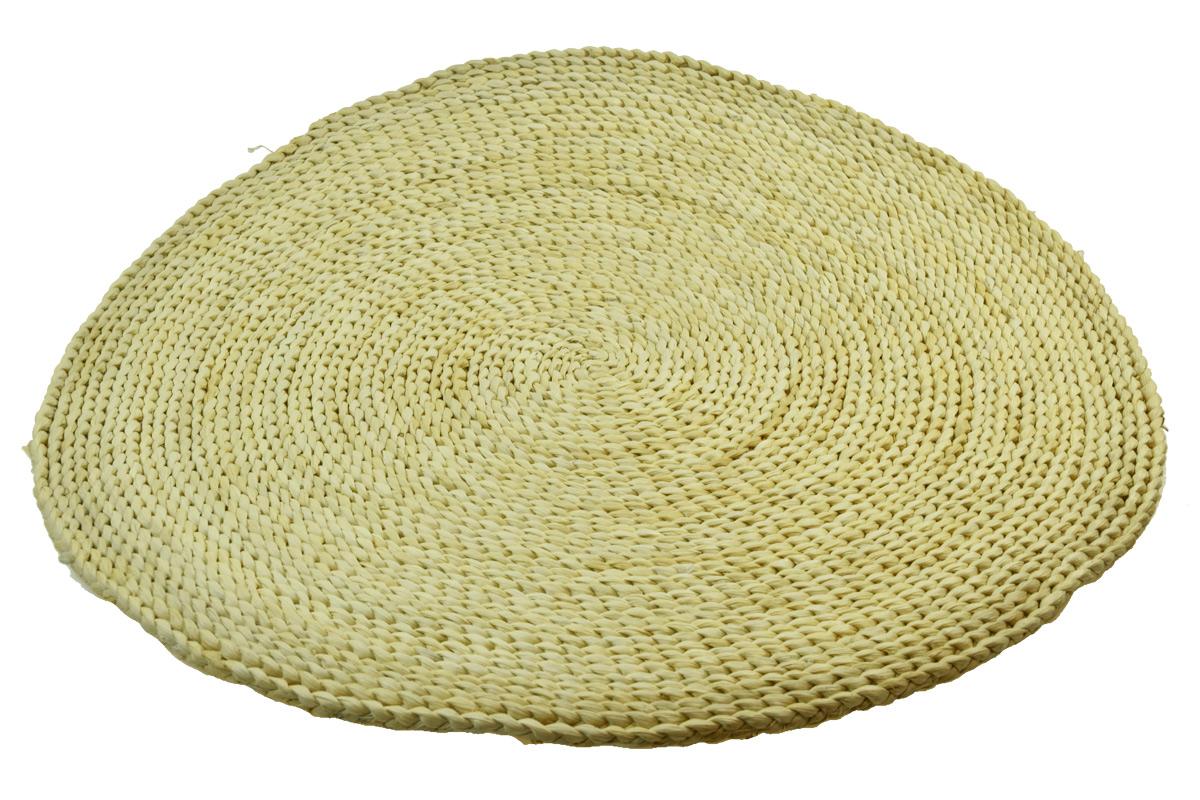Rohož kulatá přírodní Rozměry: 60cm