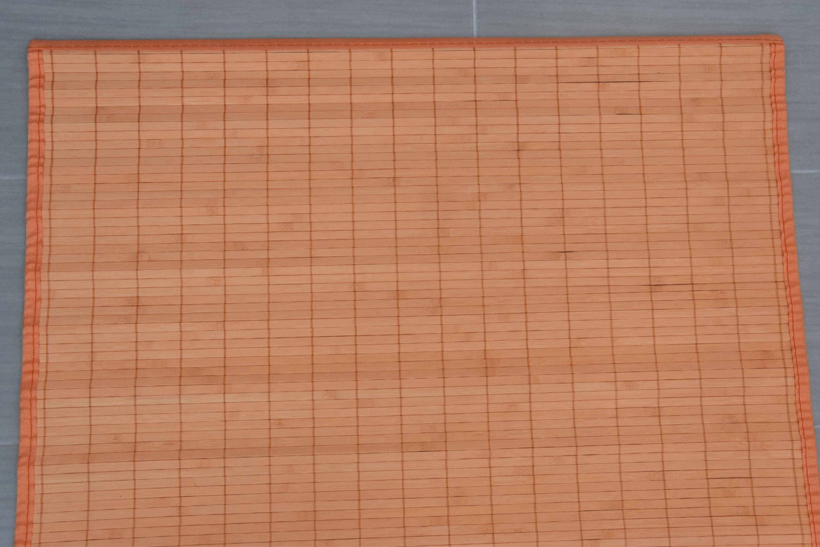 Rohož za postel oranžová Rozměry: 70x200