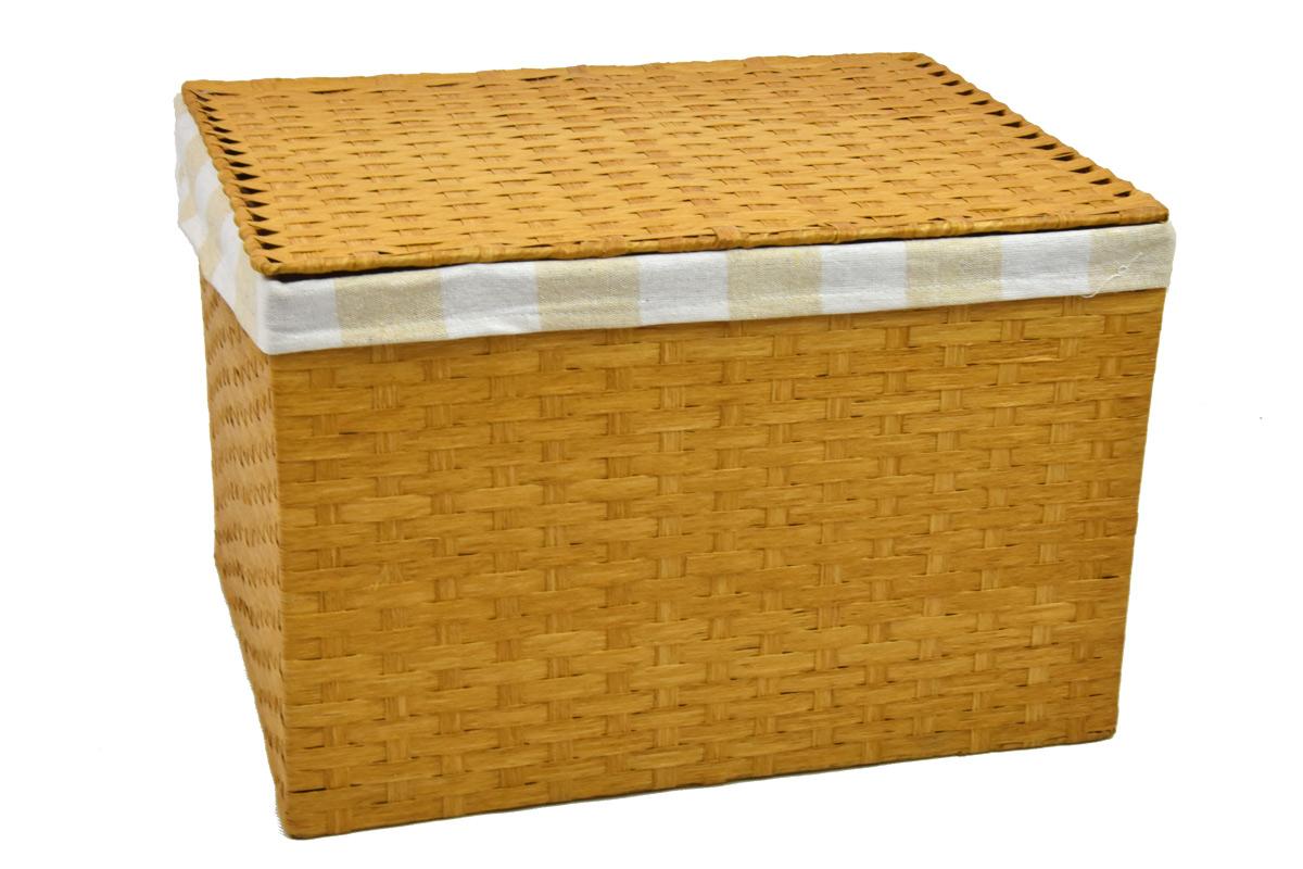 Úložný box s víkem pískový rozměry boxu (cm): 40x29, v. 28