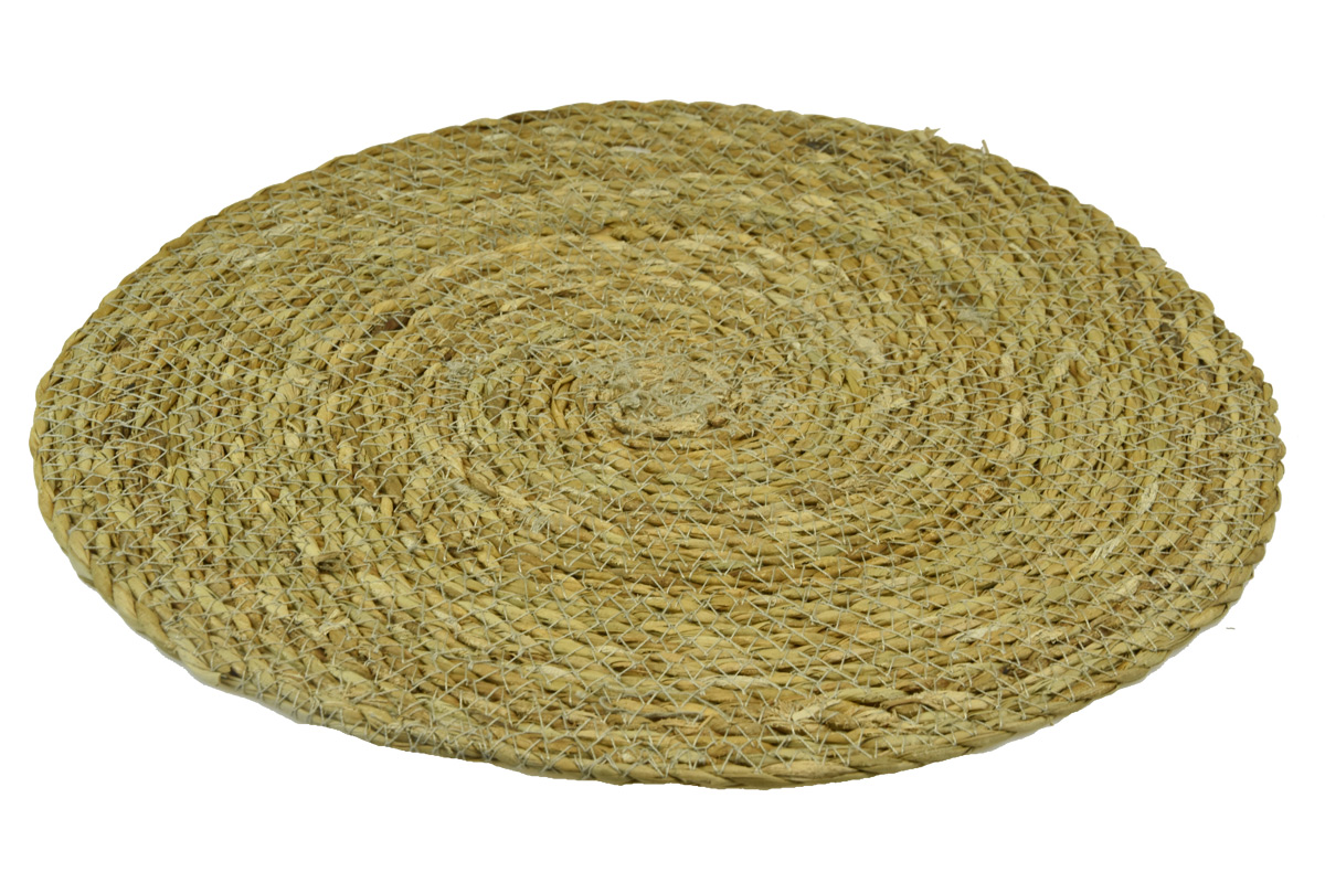 Kulatý koberec z mořské trávy Rozměry (cm): průměr 60
