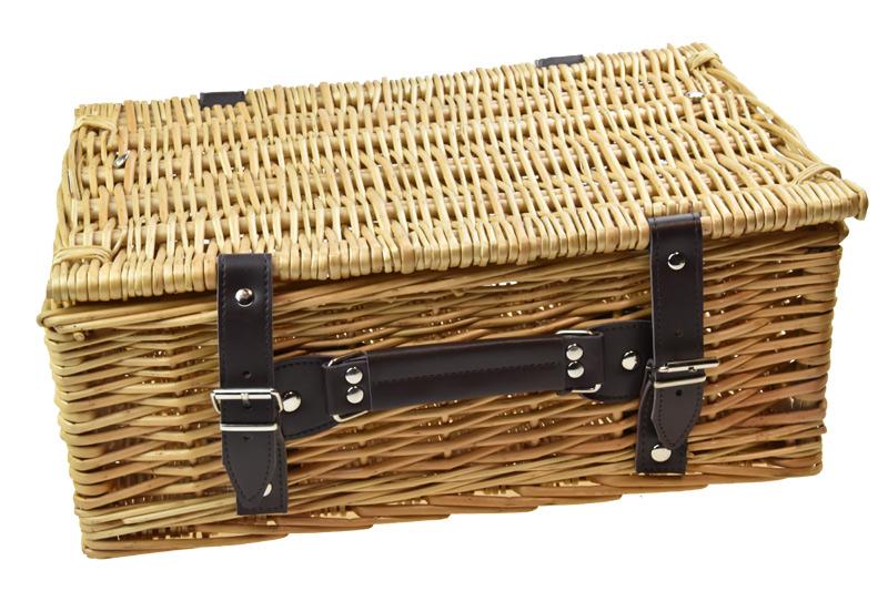 Proutěný kufr Rozměry (cm): 51x36, v. 25