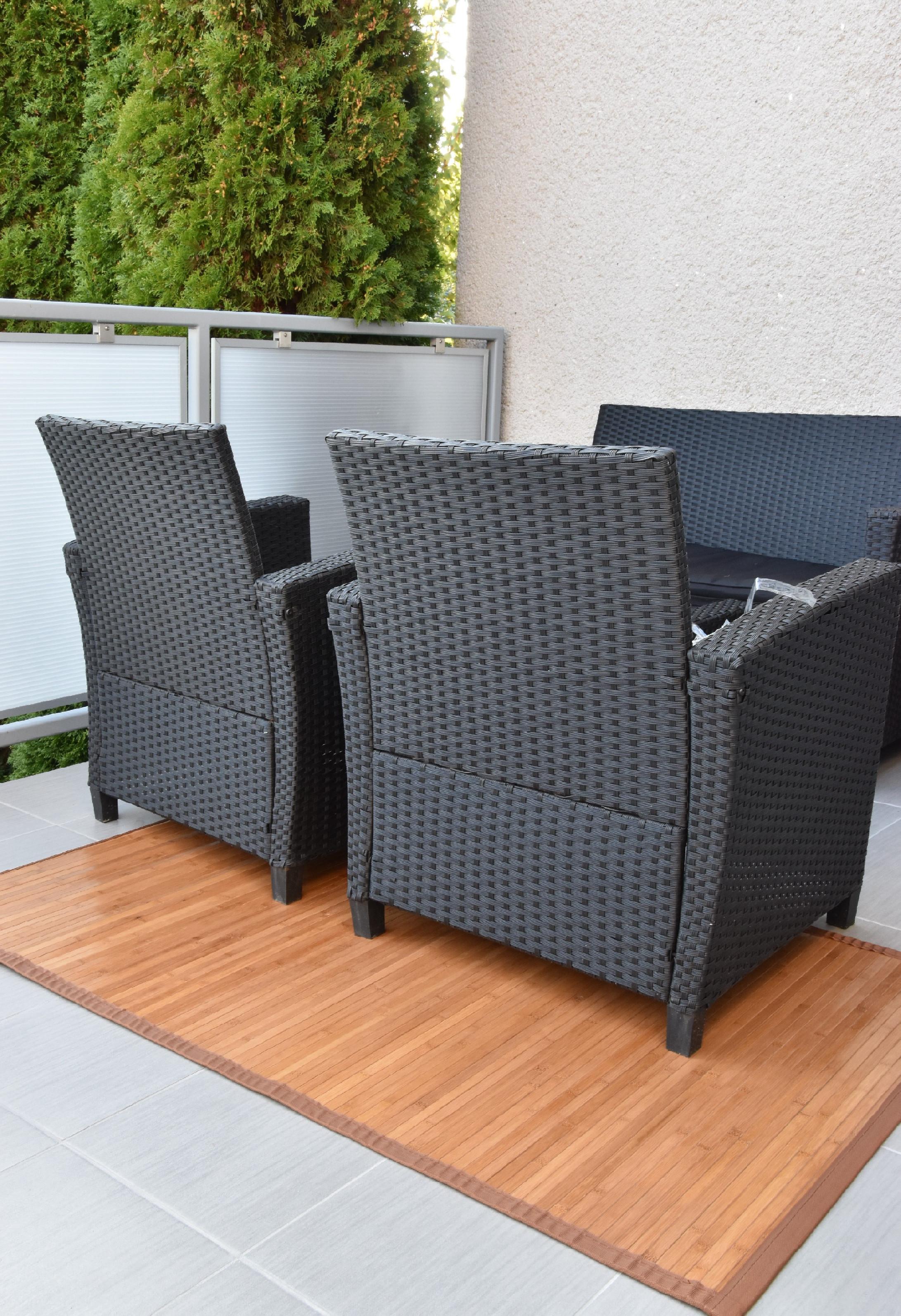 Bambusový koberec hnědý Rozměry (cm): 80x200