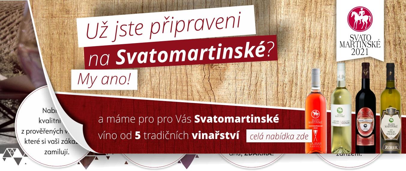 Velkoobchod a dodavatel Svatomartinského vína od 5 tradičních vinařství.