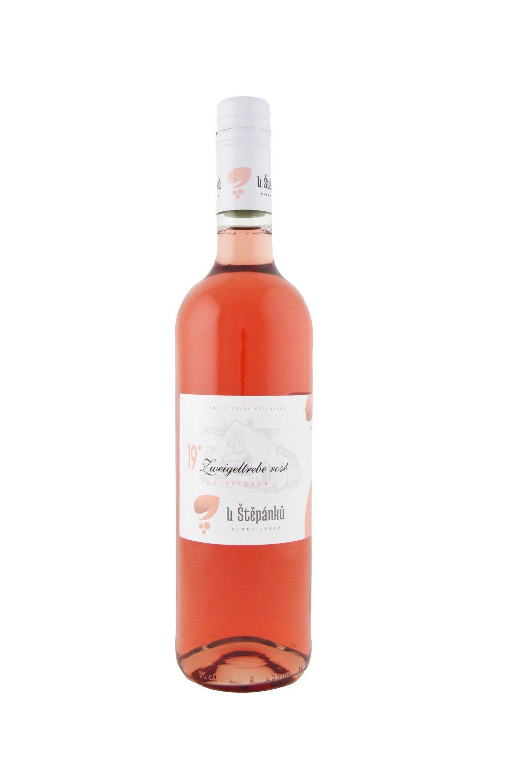 Zweigeltrebe rosé 2019 – MZV – polosladké