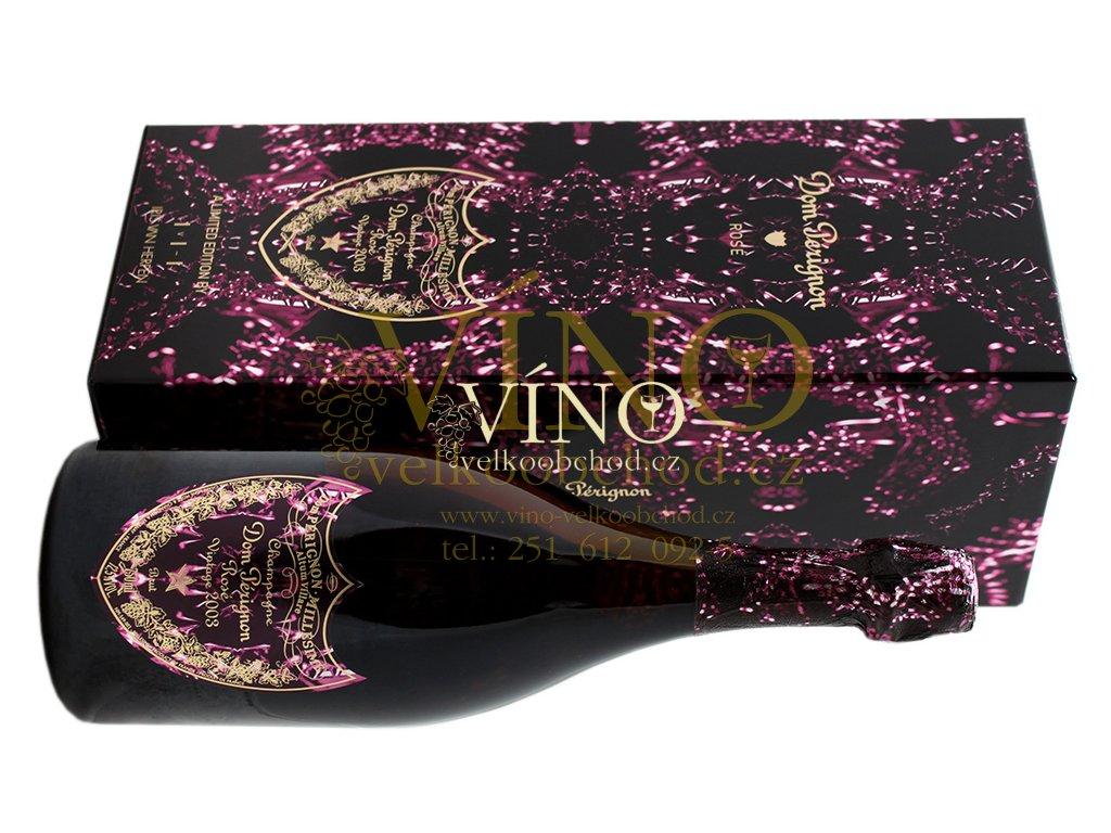 Akce ihned Champagne Dom Pérignon Rosé 2003 0,75 l Metamorphosis by Iris van Herpen in giftbox