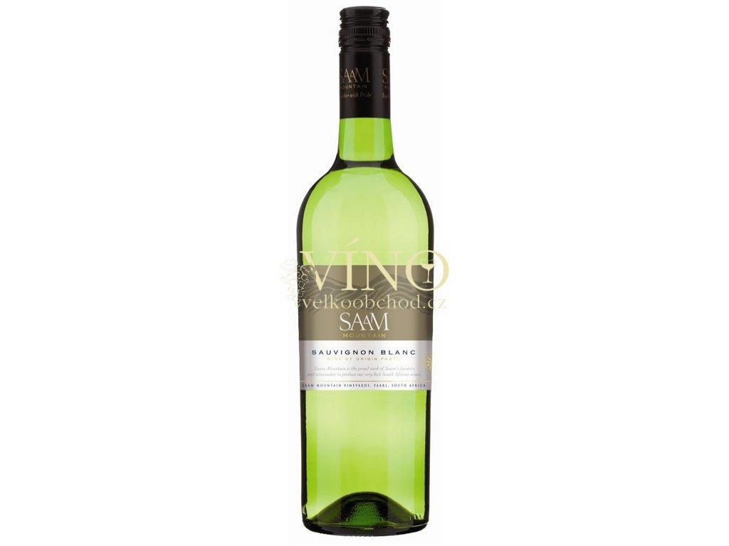 Saam Mountain Sauvignon Blanc 0,75 L suché jihoafrické bílé víno z Paarl