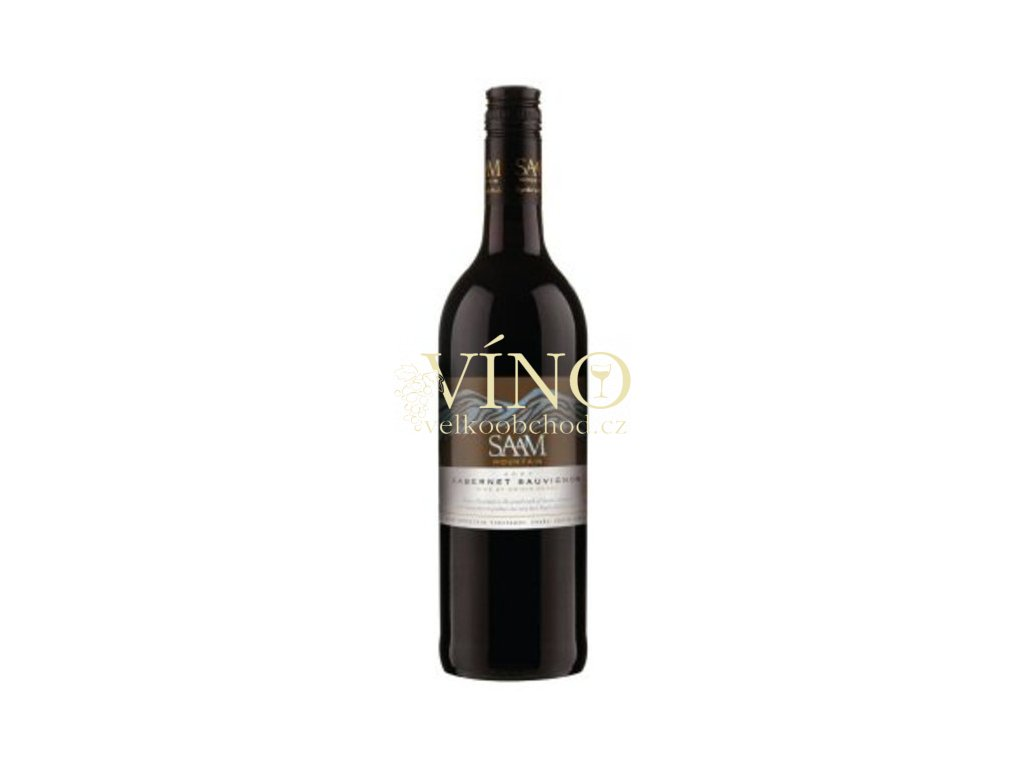 Saam Mountain Cabernet Sauvignon 0,75 L suché jihoafrické červené víno z Paarl