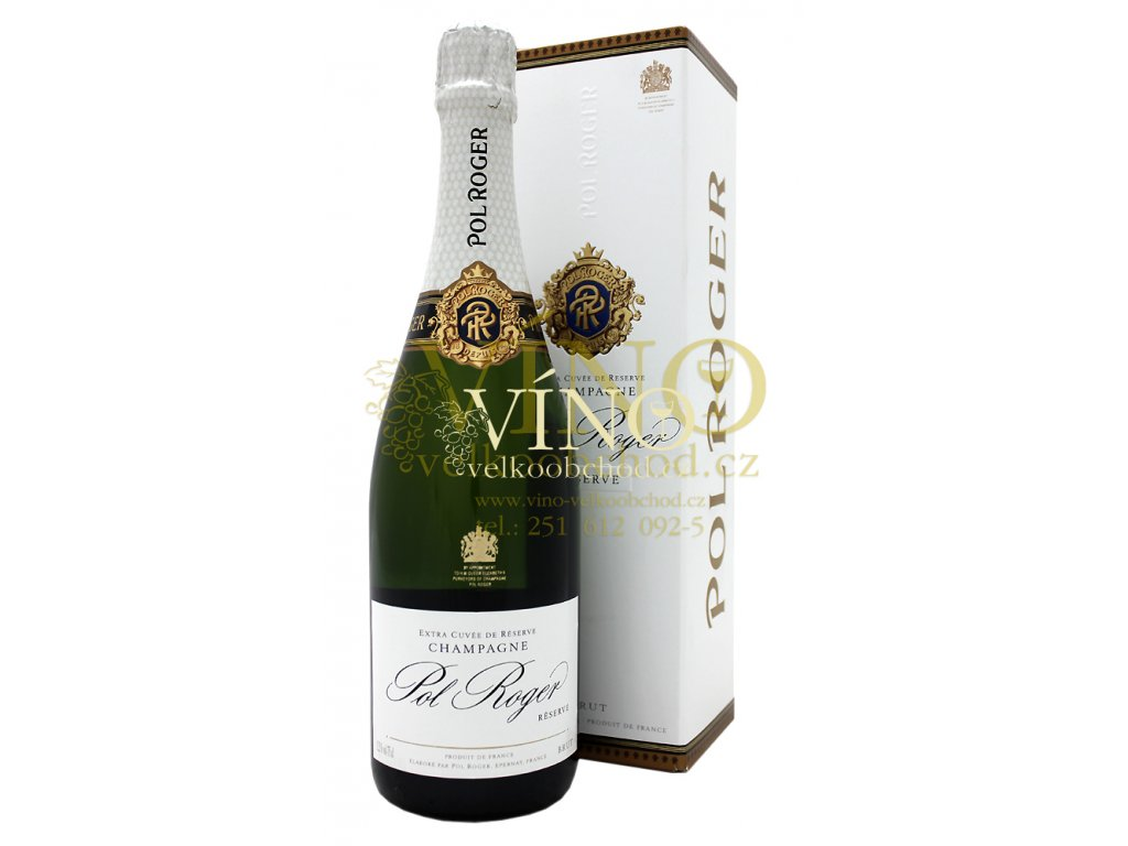 Champagne Pol Roger Brut Réserve 0,75 l in giftbox