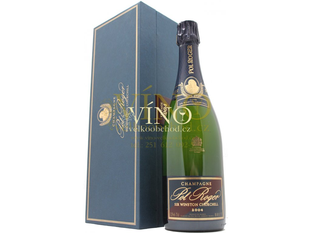 Champagne Pol Roger Cuvée Sir Winston Churchill 0,75 l Vintage 2006 in giftbox