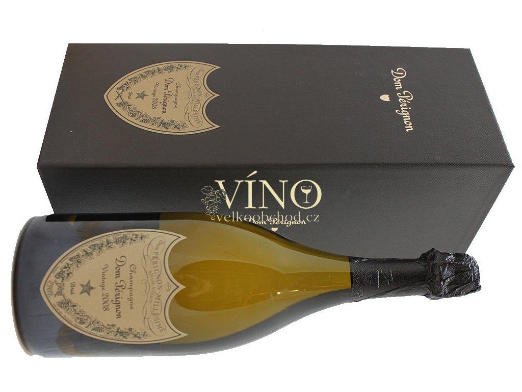 Akce ihned Champagne Dom Perignon Blanc 2008 0,75 l in giftbox