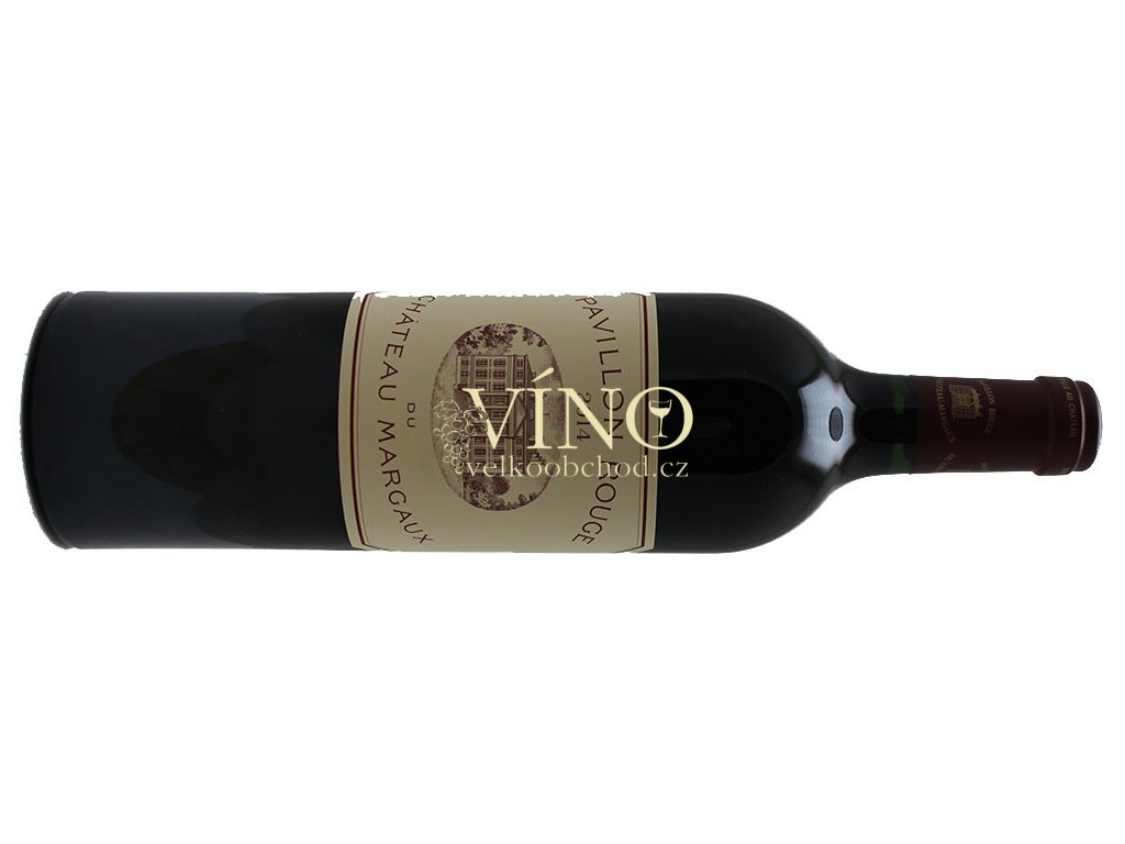 Akce ihned Pavilon Rouge 2014 Château Margaux 0,75 l suché francouzské červené víno z oblasti Bordeaux Margaux
