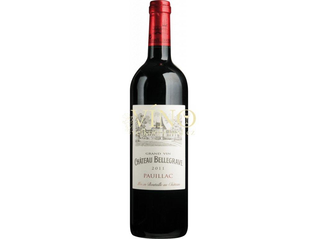 Château Bellegrave Cru Bourgeois 2014 0,75 L suché francouzské červené víno
