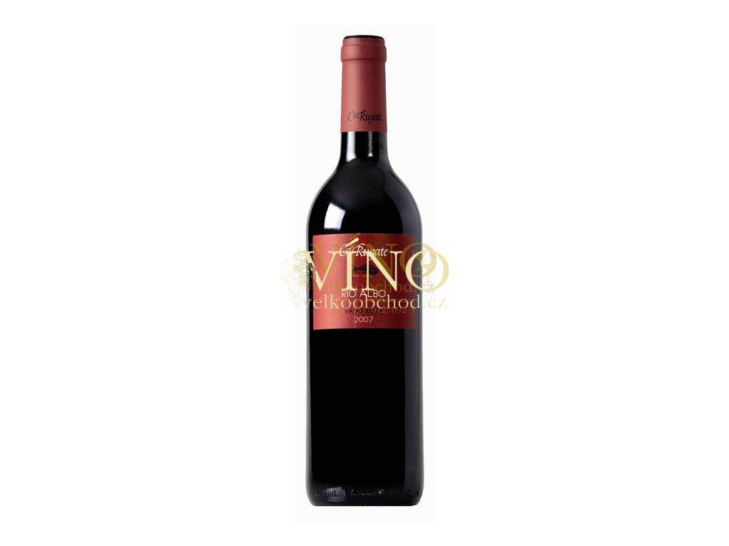 Víno Ca Rugate Rio Albo Valpolicella DOC 2017 0,375 l italské červené víno z oblasti Veneto