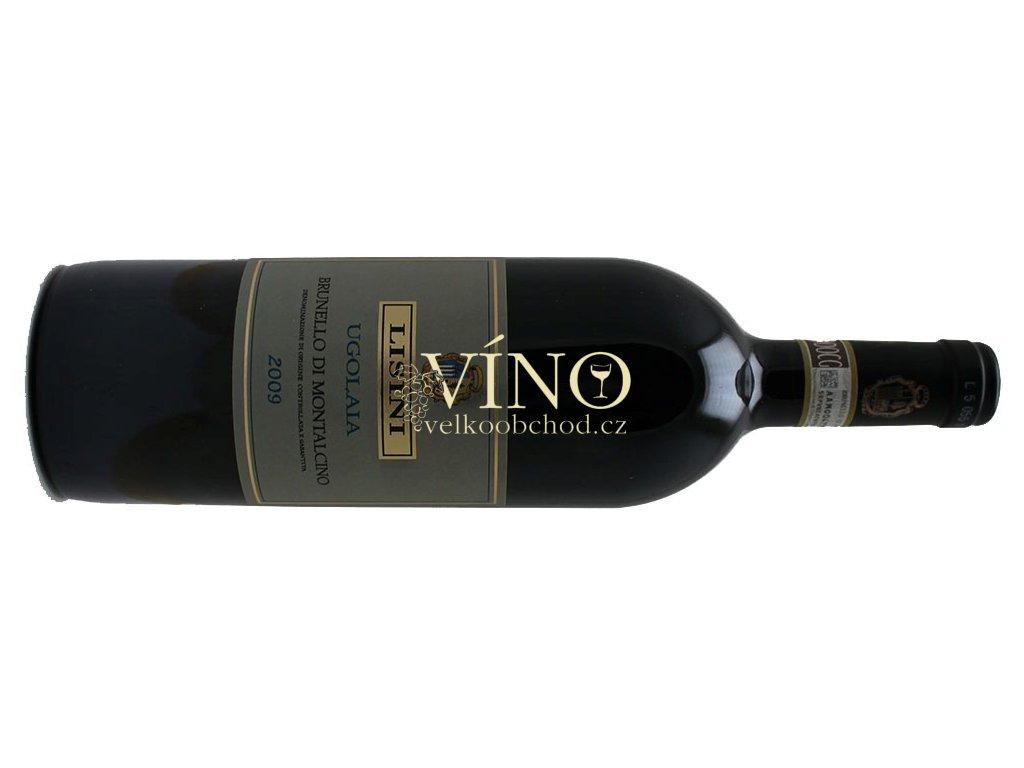 Akce ihned Lisini Ugolaia Brunello di Montalcino DOCG 2009 0,75 l italské červené víno z oblasti Toscana