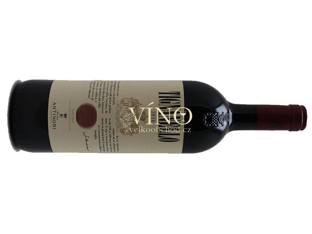 Akce ihned Antinori Tenuta Tignanello Toscana IGT 2017 0,75 l italské červené víno z oblasti Toscana