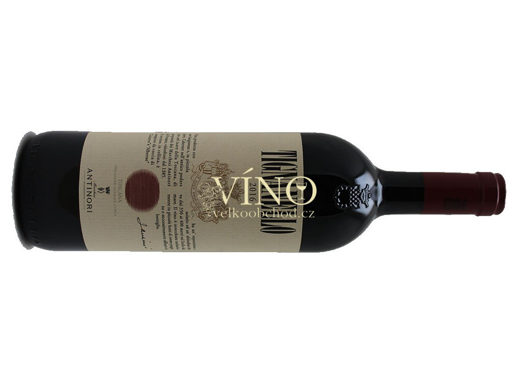 Antinori Tenuta Tignanello Toscana IGT 2017 0,75 l italské červené víno z oblasti Toscana