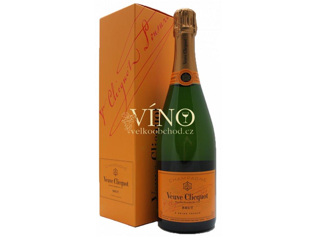 Champagne Veuve Clicquot Ponsardin Brut Box 0,75 l šampaňské Giftbox - dárková krabička