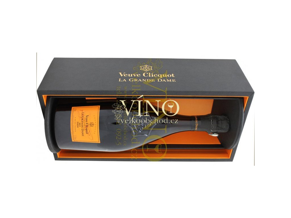 Akce ihned Champagne Veuve Clicquot Ponsardin La Grande Dame Blanc 2006 šampaňské 0,75 l COFRET REVEAL v dárkovém boxu