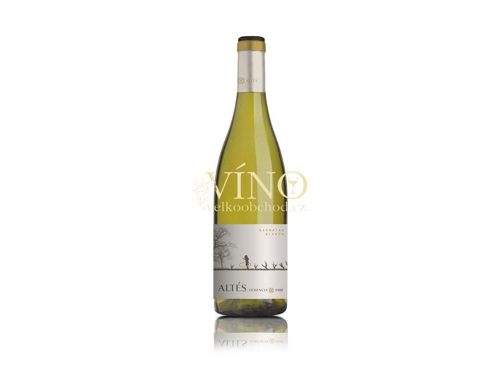 Bodegas Abanico Herencia Garnacha blanca DO 0,75 L suché španělské bílé víno z Terra Alta