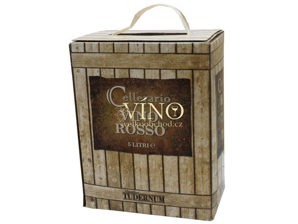 Víno Merlot Umbria IGT Bag in Box 5 l