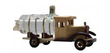 CISTERNA dřevěné auto se slivovicí 0,35 L 40%