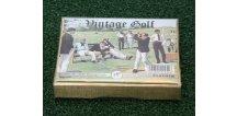 Bridž Sada Golf Vintage - hrací karty s golfovými motivy