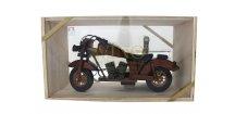 Akce ihned Harley dřevěná motorka se slivovicí 0,35 l 40%
