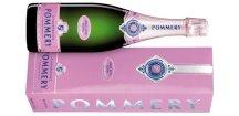 champagne pommery brut rose in gift pack lezici