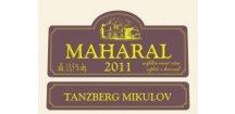Tanzberg Cuveé Maharal 2011 výběr z hroznů 0,75 L suché červené víno