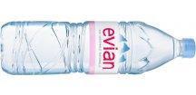 Akce balení 6 ks Evian 1,5 l PET 1500 ml nesycená pramenitá voda