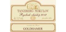Akce ihned Tanzberg Ryzlink vlašský 2012 pozdní sběr 0,75 L suché moravské bílé víno