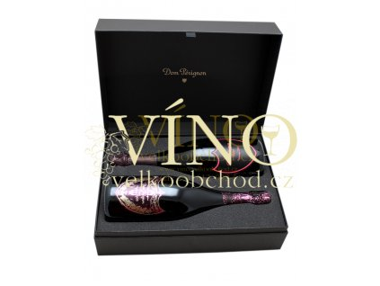 Akce ihned Champagne Dom Pérignon LUXUS DUO 2 x 75cl (Rosé 2002 Luminous & Rosé 2003 Metamorphosis)
