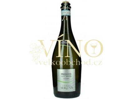 Akce ihned Terra Serena Prosecco Treviso Spago Frizzante DOC 0,75 l italské šumivé víno z Treviso