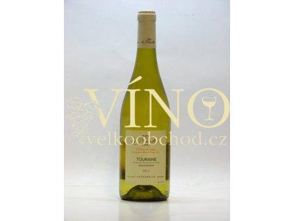 Ackerman Touraine Sauvignon de Neuville AOC 0,75 L suché francouzské bílé víno z Val de Loire