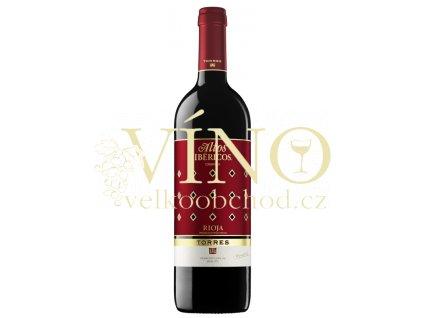 Torres Altos Ibericos Crianza Tempranillo 0,75 l suché španělské červené víno z oblasti Rioja