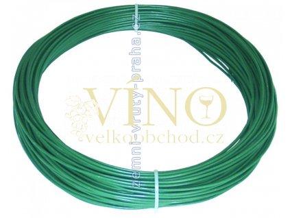 Drát napínací 3,5mm PVC