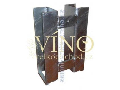 Držák podhrabové desky, Fe+Zn, 200mm, průběžný