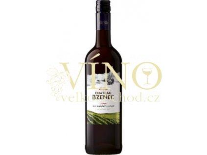 Chateau Bzenec Rulandské modré jakostní 0,75 L suché červené víno